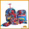 spider-man series kids school bag set