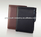human leather wallet