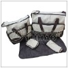 Fashional Cute 2013 OEM Cheap diaper bag for baby with hanging strap