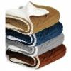 100% Microfiber Sherpa Blanket