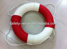 Red/White foam Life buoy with PU cover