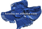 Fashion design casual shrink cheap scarves