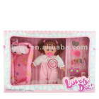 "16"" B/O fashion baby doll funny vinyl stuffed doll baby reborn dolls with 4 kinds sound IC Happy doll"