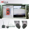 360 degree Car Camera Around View Monitor System for Highlander