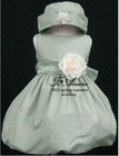 2012 Tiamero Elegant Sleeveless Flower Girl Dress TB-011