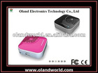 2012 Newly and Portable MINI Bluetooth Powerbank Speaker for Iphone/Ipad Charge, Built-in MIC for Chat