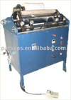 Coreless stretch film rewinding machine