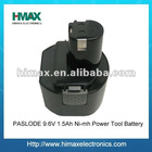 Ni-mh 9.6V 1.5Ah Power Tools Battery for PASLODE