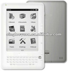 "the newest 6""e-ink book reader with 3G function"