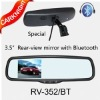 bluetooth car reversing mirror,rear monitor