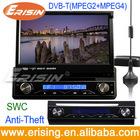 "Bluetooth Music 7"" Single Din Car DVD GPS Erisin ES798D"