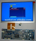 8.9 inch LVDS panel tft lcd module 1024x600 RGB with driving board