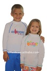 Hot Sale UV Protection Kids Rash Swim Shirts