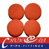 Concrete pump clean-out ball,5.5'' sponge rubber ball