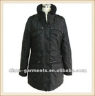 Fashion Skiing Ladies Coat Design