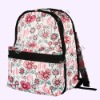 A--16 flower printing Fashion backpack