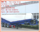 2010 DTA 2/3 Axle bulk cement semi trailer semi-trailer for bulk cement transportation tank semi trailer,(42-60m3)-V Type