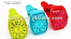 candy color jelly table resin wrist support sports watch silica gel table quartz watch