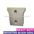 Single Hook Mounting Block