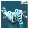 Inflatable floating water toy ladder climb game (wat-580)