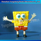 OEM small Sponge bob plastic toys for kid/plastic Sponge bob toys for children
