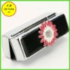 Wedding Sunflower Black Enamel Lipstick Box