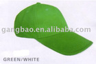 promotional plain green baseball caps