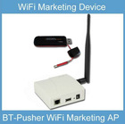 BT-Pusher WiFi Marketing Device advertising stand free wifi hotspots