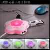 Colorful Plum USB HUB