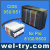 New CISS 950/951 for hp 8600/8100