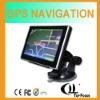 MTK 5 inch gps sirf atlas iv gps navteq maps with av-in bluetooth optional