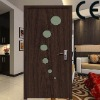 novel MDF door with glass
