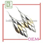 Fashion Metal Jewelry of Earrings with Charms