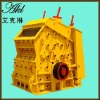 High output impact gravel crusher
