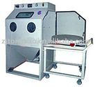 Cart-type turntable sandblasting machine-TB-1212FTA