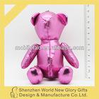 Cute Soft Teddy Bear Plush Toy Animal, Novelty Promotional Stuffed Dolls, OEM Cartoon Kids Ornaments Gifts Presents