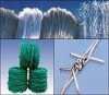 High quality of electro galvanized barbed wire