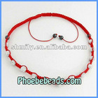 Wholesale Shamballa Necklace For Women Braided Crystal Rhinestone Clay Ball Beaded Jewelry (16Colors)PSN14-8