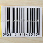barcode sticker and barcode label for packing