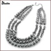 alloy layered basketball necklace KL-NL-W-1380-J