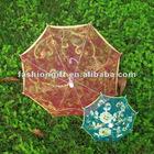 Rose red craft umbrellas for kids[30CM radius,10 colors for choice]