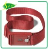 No.Lock luggage belt in red color or customized