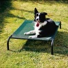 Iron pet bed with fabrics