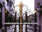 garden decorations cast metal garden iron gate