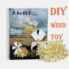 DIY Wind Bionic Beast Educational Science Intelligence Toy Assemble Kit Wind Power Toy Kit Creative Gift