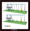 baby plastic swing and slide set Q012