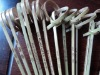 14cm knotted bamboo skewer for BBQ use