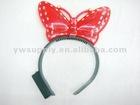 The butterfly shape led lights hair hoop