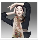 women's fashion chiffon print silk scarf in many colors