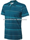 Man Golf Polo / stripe golf polo